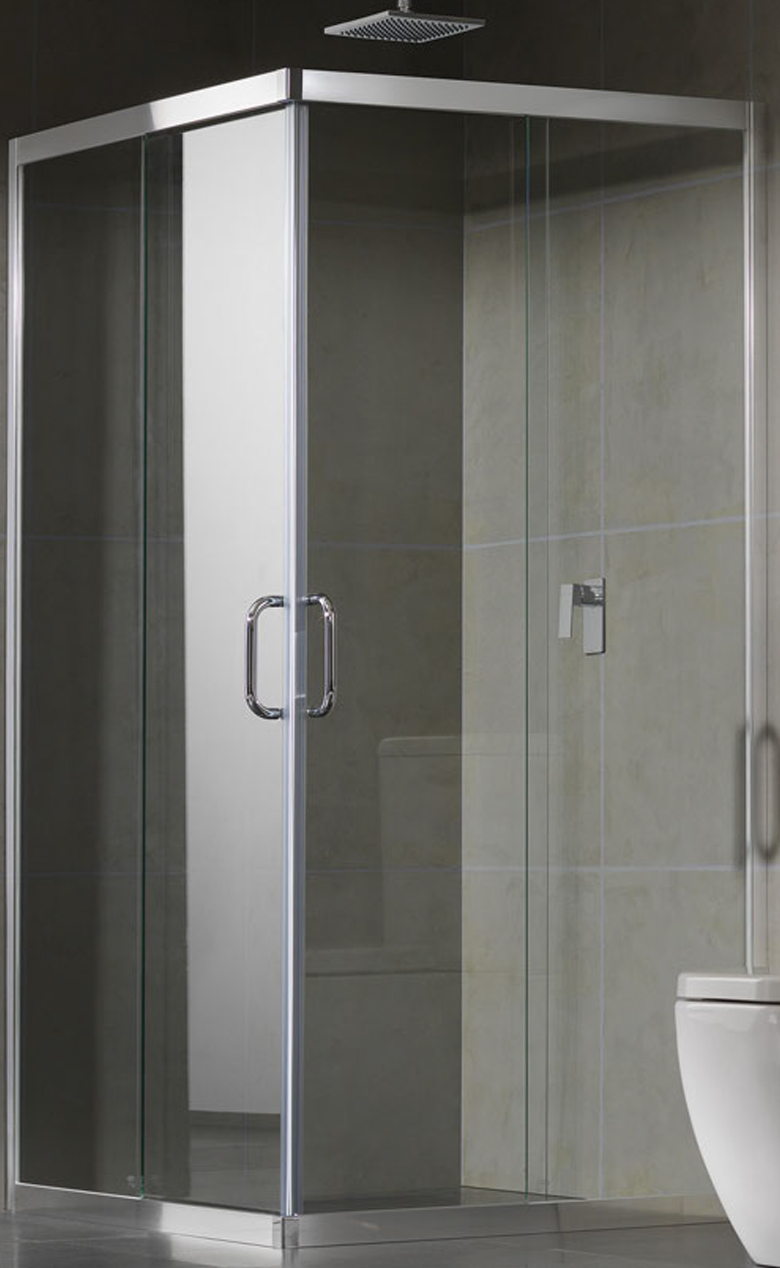Sliding shower screen - Semi Frameless Sliding Shower Screen